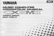 雅马哈CX5MII英文说明书