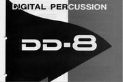 雅马哈DD-8英文说明书