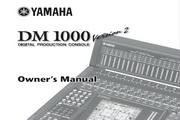 雅马哈DM1000 Version 2说明书