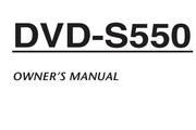 雅马哈DVD-S550英文说明书