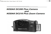 柯达DC200 Plus数码相机说明书