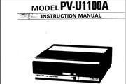 宾得PV-U1100A摄相机英文说明书