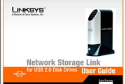 LINKSYS NSLU2 - USB 2.0 移动网络硬盘英文说明书