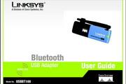 LINKSYS USBBT100 - USB 蓝牙适配器英文说明书