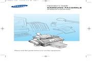 三星 SF4100传真机 英文使用说明书