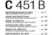益明影音电容式麦克风-C451EB说明书