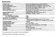 益明影音电容式麦克风-C414B-TLII说明书