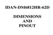 瑞泰凯博IDAN-DM6812HR-62D型IDAN集成数据模块板说明书