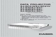 卡西欧 XJ-S37投影机 英文使用说明书