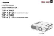 东芝 TLP-X21U投影机 英文说明书