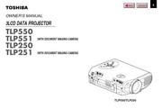 东芝 TLP-550影机 英文说明书