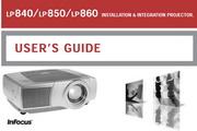 富可视 LP840投影机 英文说明书