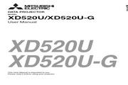 三菱 XD520U投影机 英文说明书