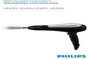 Philips HP4990强力吹风机 用户手册