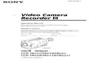 索尼 CCD-TRV211模拟摄像机 说明书