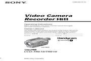 索尼 CCD-TR618模拟摄像机 说明书