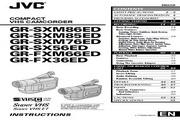 JVC GR-FXM66ED数码摄像机 使用说明书