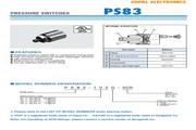CPPAL PS83 压力传感器 使用说明书