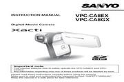 三洋 VPC-CA8EX数码摄像机 使用说明书