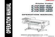 Mimaki CJV30-100打印机 英文说明书