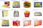 麦当劳图标
