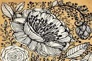 復古裝飾花紋矢量設計