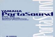 雅马哈PSS-401型电子琴说明书