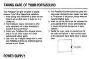 雅马哈PSS-10型电子琴说明书