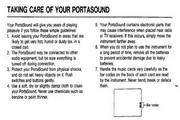 雅马哈PSS-101型电子琴说明书