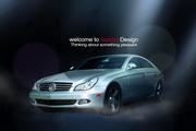 商务汽车PSD宣传广告