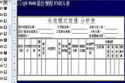 品冠FMEA-不良模式与效应分析系统