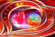 7art Love Dance Clock ScreenSaver