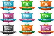 网页促销标签LOGO
