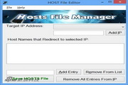 HOST File Editor