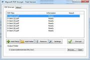 Mgosoft PDF Encrypt Command Line