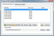 Mgosoft PDF Security Command Line