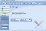 HP COLOR LASERJET CP1215 Driver Utility