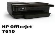 惠普HP Officejet 7610一体机说明书
