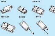 海尔HW-U80WG手机使用说明书LOGO