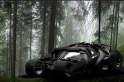 Batman Tumbler ScreenSaver