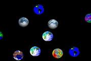 Bouncing Globes