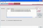 Recover Data for Corrupt Access File