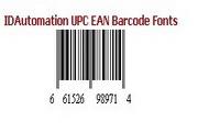 IDAutomation UPC/EAN Barcode FontsLOGO
