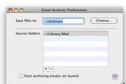 Email Archiver  For MacLOGO