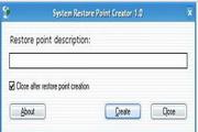 Portable Restore Point CreatorLOGO