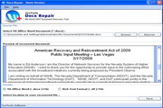 Recover 2007 Word File