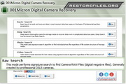 Digital Camera Restore