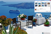 Santorini Greece Windows 7 Theme