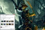 Fantasy Pirates Windows 7 Theme