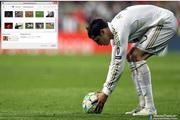 Cristiano Ronaldo Windows 7 Theme